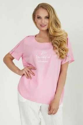 Блуза Бьюти розовая