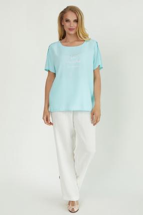 Блуза Бьютi блакитна 3861