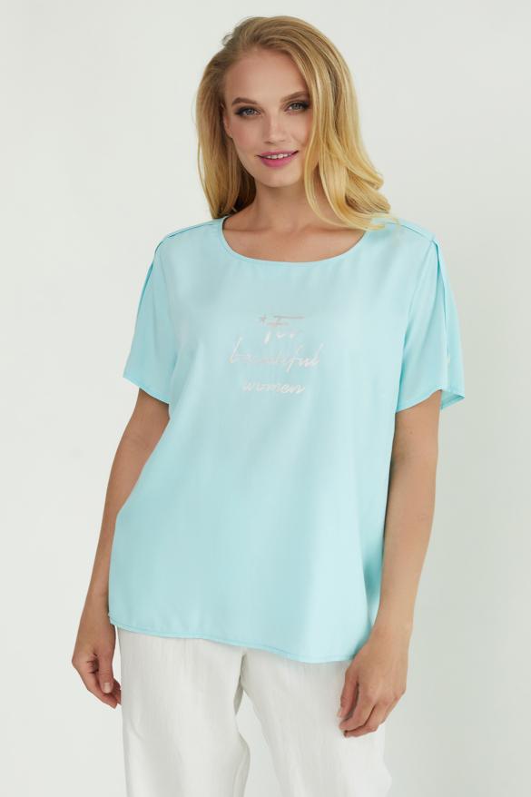 Блуза Бьютi блакитна