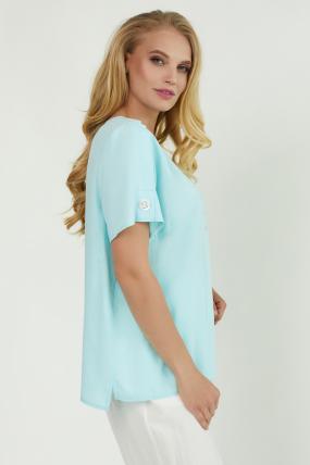 Блуза Бьютi блакитна 3863