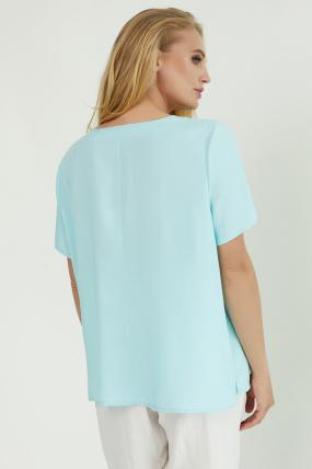 Блуза Бьютi блакитна 3864