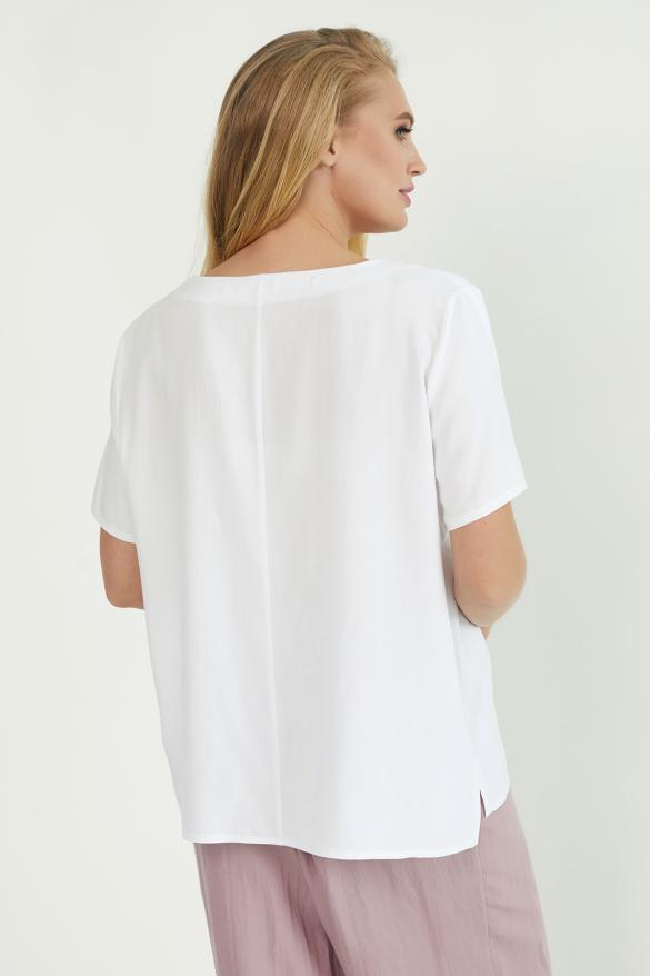 Блуза Бьюти белая