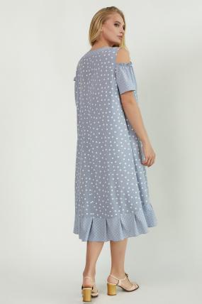 Сарафан Амур голубой 3875