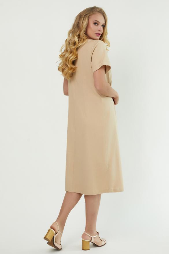 Сукня Тюльпан  бежева