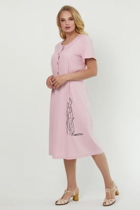 Сукня Тюльпан  рожева 3891