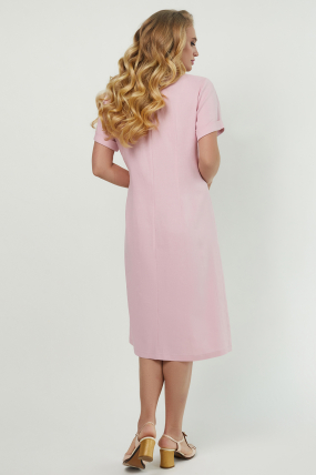 Сукня Тюльпан  рожева 3892