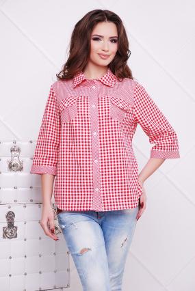 Рубашка коралловая Аленушка