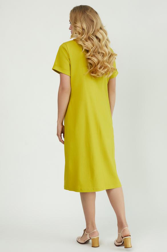 Сукня Тюльпан  гірчиця