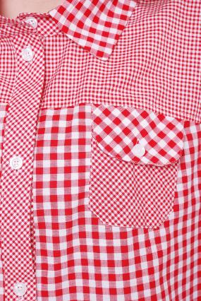 Рубашка коралловая Аленушка 40