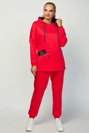 Спортивный костюм Люксио красный