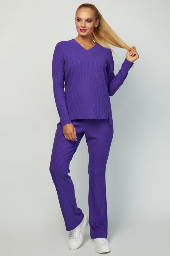Костюм Латвия фиолетовый