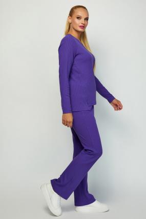 Костюм Латвия фиолетовый 4067