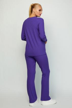 Костюм Латвия фиолетовый 4068