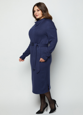 Платье Марсель темно-синее