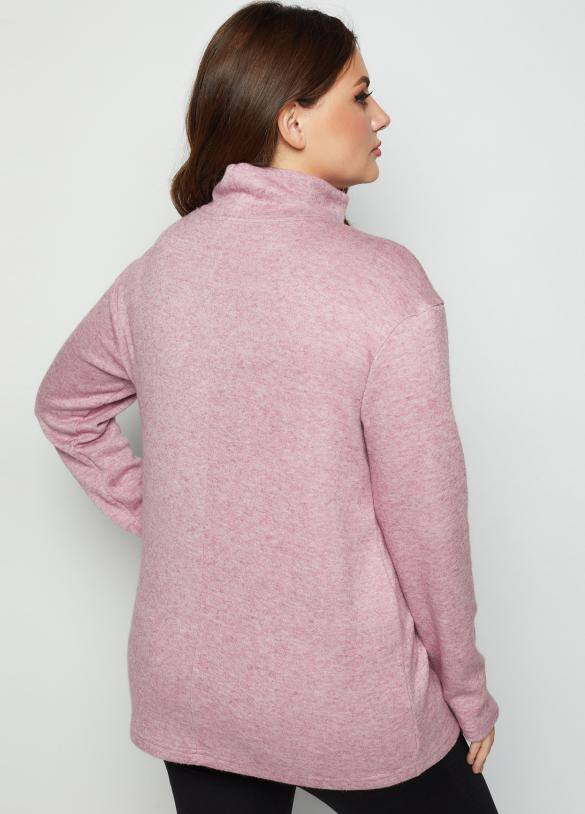 Джемпер Лейб розовый