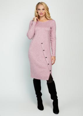Платье Загадка розовое