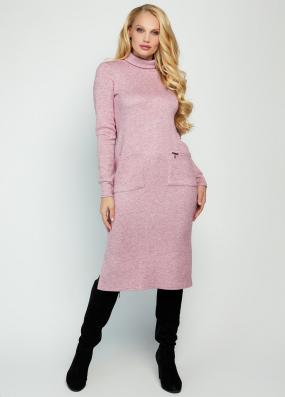 Платье Хит розовое