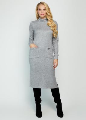 Платье Хит серое