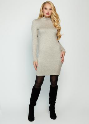 Платье Гвен бежевое