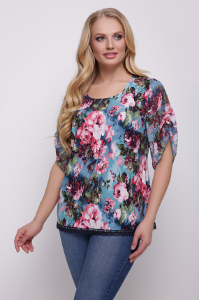 Блуза Нежность 469
