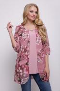 Блуза Поля (розовый)