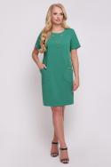 Платье  Айза (зелёный)