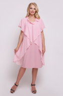 Платье Мелисса (розовый)