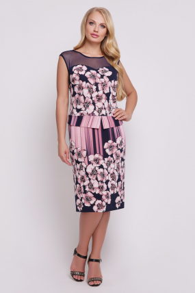 Платье Ірис (рожевий)