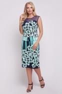 Платье Ирис (бирюзовый)