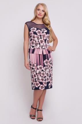 Платье Ірис (рожевий) 688