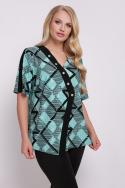 Блуза Игла (бирюзовый)