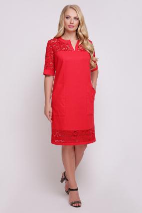 Сукня Тетянка (червоний)