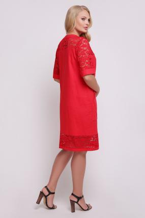 Сукня Тетянка (червоний) 721