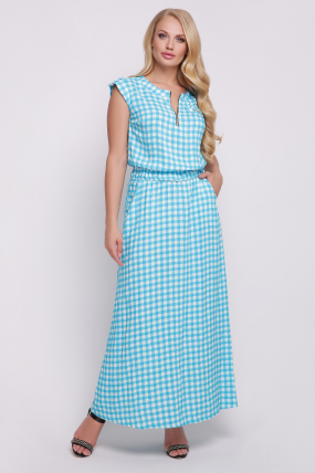 Сукня Гербера (блакитний) 728