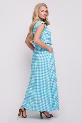 Сукня Гербера (блакитний) 729