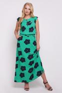 Платье Гербера (зелёный)