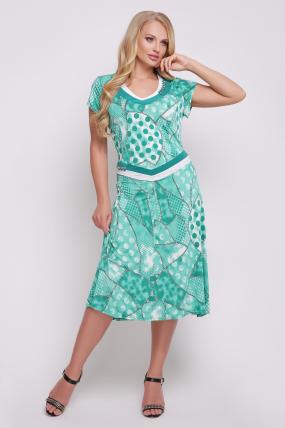 Сукня Лола (бірюзовий) 759