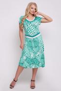 Платье Лола (бирюзовый)