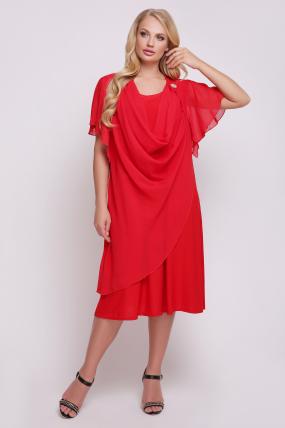 Сукня Каліфорнія (червоний) 772