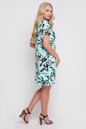 Платье Айза принт 794
