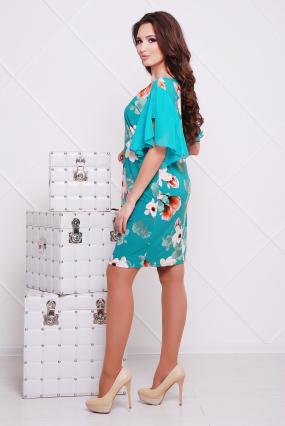 Платье бирюзовое Магнолия 80