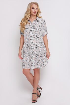 Платье-рубашка Стамбул  806