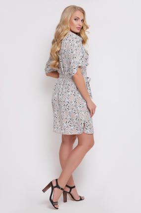 Платье-рубашка Стамбул  814