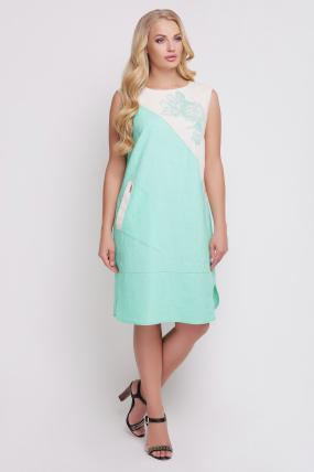 Сукня Інь-Янь (синій) 855