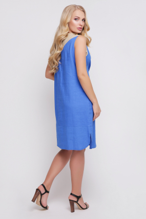 Сукня Інь-Янь (синій) 861