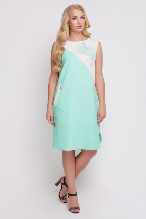 Сукня Інь-Янь (синій) 863