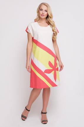 Сукня Цветик (жовтий) 877