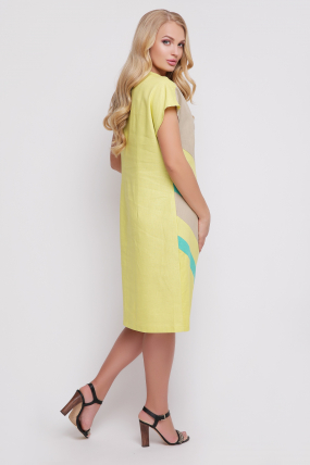 Сукня Цветик (жовтий) 884