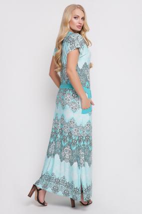 Сукня Галатея (бірюзовий) 886