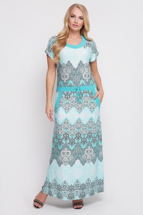 Сукня Галатея (бірюзовий) 889